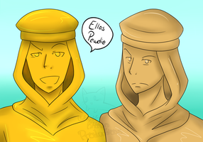Stephano And Gonzales by x-SpookyBoo-x