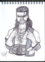 Razor Ramon by emceelokey