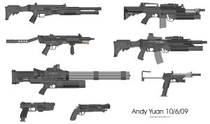 Rifles from Pimp My Gun 5 by c-force