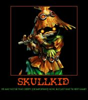 Zelda skullkid demotivational poster by Dbgtinfinite