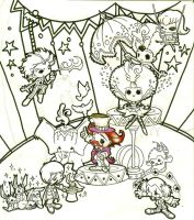 The little circus by centauros-graphic