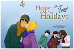 Happy Holidays, 2008 by mongrelmarie