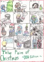Twelve Pains of Christmas -DDR Edition- by Feardancer