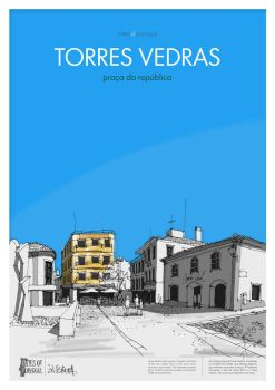 CITIES OF PORTUGAL - Torres Vedras 1 by Stillsketch