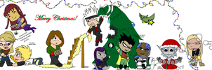 A Merry Legends Christmas by terraine114