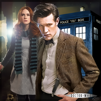 The Doctor and Amy by PZNS