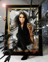 Isabelle Lightwood thru the miror by Martange