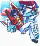 Starscream Skyfire SLASH by Mentacle