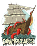 Dawn breaker tshirt design by superpencilpower
