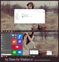 lne Theme Windows 10 Technical Preview by cu88