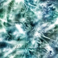 cat scratch brushes by koolkidd77