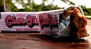 Choc nut by clarences