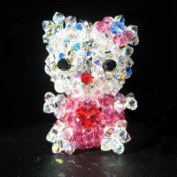 Crystal Hello Kitty by vivee