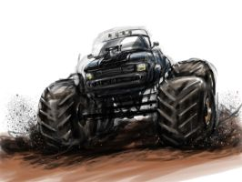 Monster Truck READY TO RUMBLE by jmont