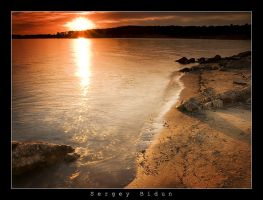 Folsom Lake Sunset by sergey1984