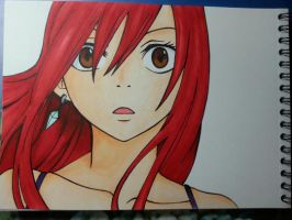 Erza Scarlet by CrystalMelody-FT
