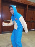 Sonic the Hedgehog Cosplay at MCCC by KrazyKari