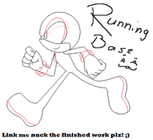 Running Sonic base -:-REQ-:- by xXLisanneTheCatXx