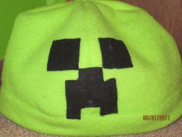 Creeper hat by techieofthenight