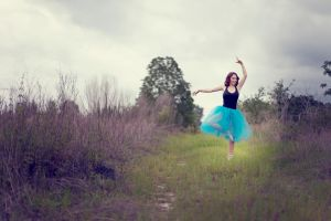 Ballerina in the Feild by PhotoArabesque