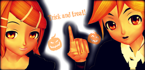 .: Trick And Treat :. by CalmSnow