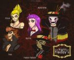 :::Five Nights At FREDDY'S (AU)::: by chocolatevampire217