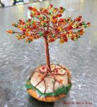 Autumn wire tree style 2 by HollieBollie