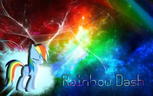 Rainbow Dash Wallpaper by Woodyz611