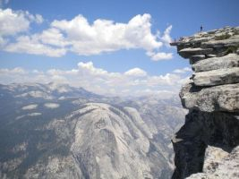 Half Dome by Snakelady39