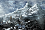 Storm in the Mountains [Exploring] by quercifolium