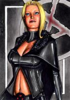 Emma Frost - Sketch Card by J-Redd