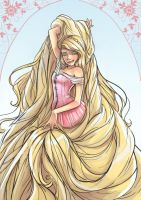 Tangled-Rapunzel by Spleen-y