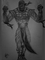 ermac black and white by amanda04