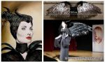 Maleficent's Wings by jolabrodnica