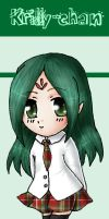 Chibi Krilly Bookmark by lilith-lips