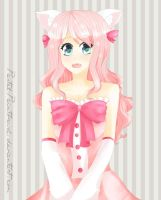 Pink Kitty by arulie