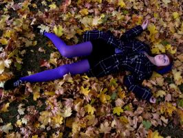 she falls with the leaves by kick-the-bucket