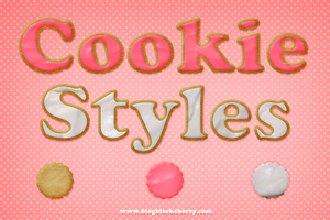 Frosted Cookie Styles by MariMysteria