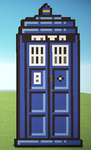 Minecraft - Doctor Who - The Tardis by Kuuonn