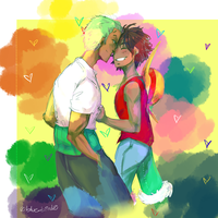 Day 1 Eskimo Kiss by Sogequeen2550