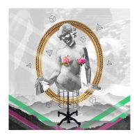 Gold Frame Collage by HowseholdGraphics
