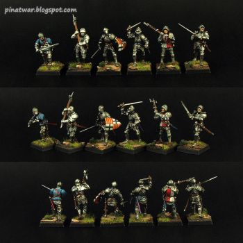 Perry Miniatures 1450-1500 Foot Knights #1 by KorNat