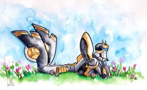 Animated Prowl in Spring by The-Starhorse