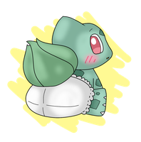 Baby Bulbasaur by p0ckym0n