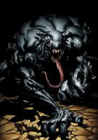 MARVEL ULTIMATE VENOM by CRYPTID-MAN