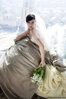 Wedding dress by rusinovich