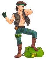 Rictor, AWOL by Cesar-Hernandez
