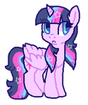 Twilight sparkle by puqqie