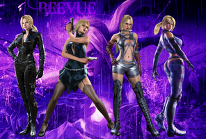 Nina Williams Wallpaper  by BeeVue