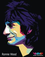 Ronnie Wood by harrypotro